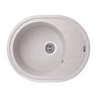 Кухонная мойка GF Italy (GRA-09) 620x500/200 гранитная