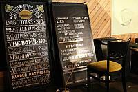 Доска для меню в кафе без рамки 1200х840
