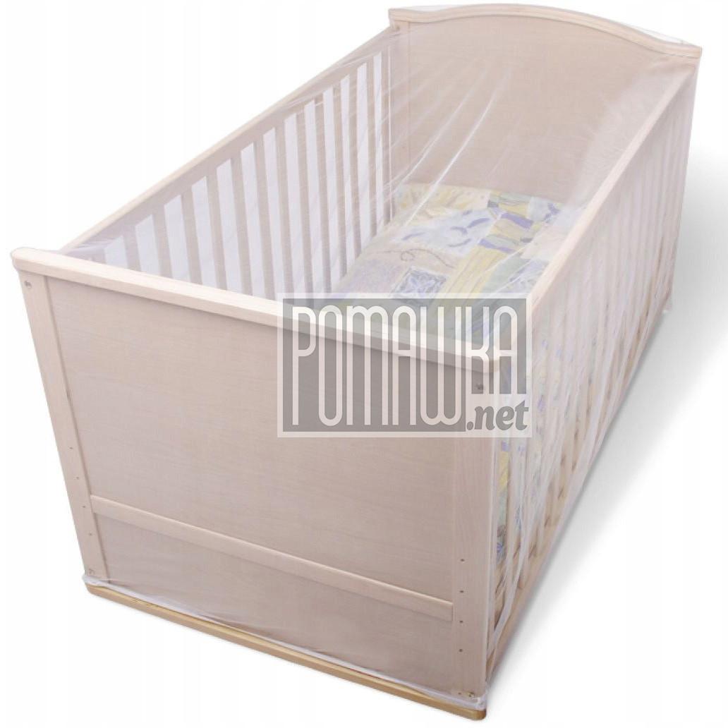 Москитная сетка для детской кроватки 120*60 h=70см универсальная антимоскитная сетка на детскую кроватку манеж