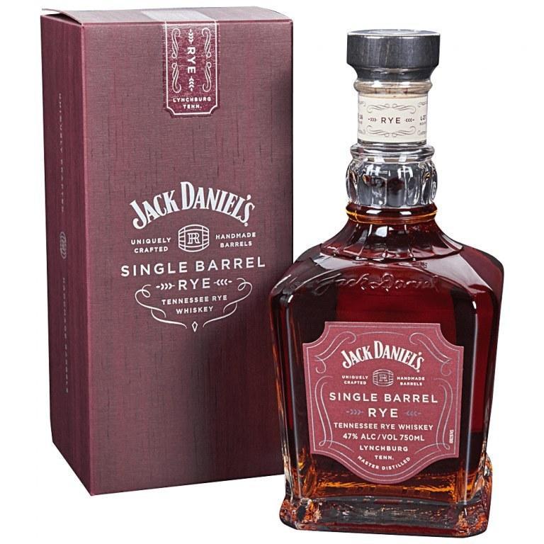Виски Jack Daniels Single Barrel Rye (Джек Дэниелс Сингл Баррел Ржаной) 45%, 0.7 литр