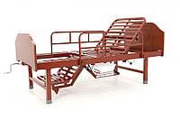 Кровать механическая Е-49 (3 функции, 7 секций)с туалетным устройством и функцией «кардиокресло», фото 1