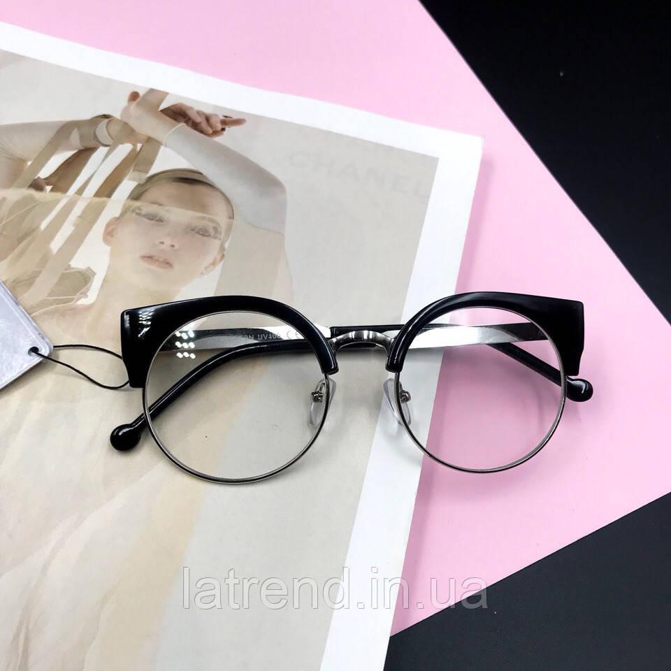 c7b530d99bda Трендовые очки кошечки имиджевые, очки для стиля, маст хэв этого сезона