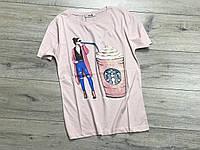Женская футболка. S- M размеры.