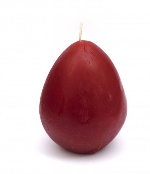 Свічка яйце червоного кольору