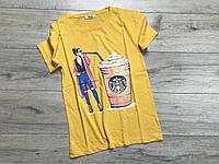 Женская футболка. M  размеры.