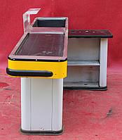 Кассовый бокс с узким накопителем 230х100 см., (Украина) Б/у, фото 1