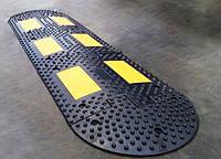 Лежачий полицейский 500х500х50мм, ИДН-500, Основная секция, Схема установки