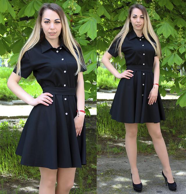 сукня сорочка, сукня сорочка чорного кольору