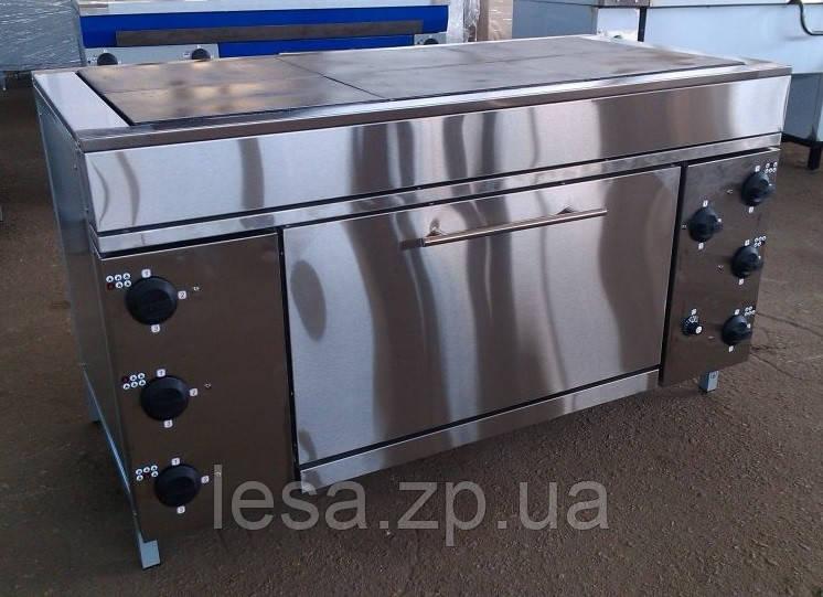 Плита шестиконфорочная с духовкой ЭПК-6ШБ эталон