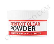 Базовый акрил прозрачный для наращивания ногтей Perfect Clear Powder Kodi (60г)