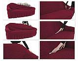 Чехлы универсальные на диван и два кресла, фото 3