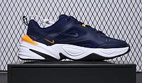 "Кроссовки Nike M2K Tekno ""Navy/Yellow"" Арт. 4088"