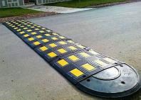 Лежачий полицейский 650х500х52мм, ИДН-650, Основная секция, евростандарт