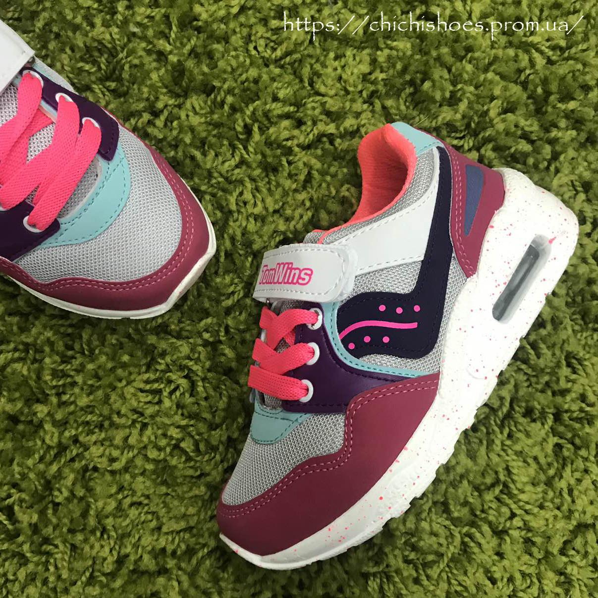 fda97f37 Детские кроссовки для девочки Tom Wins 27-30 размер: продажа, цена в ...