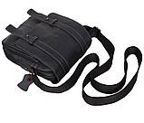 Мужская кожаная сумка Dovhani PRE15401 Черная, фото 6