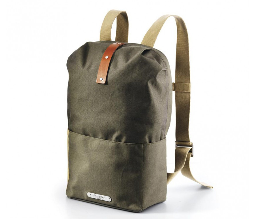 Рюкзак BROOKS DALSTON Knapsack Utility Medium Green Fleck-Honey