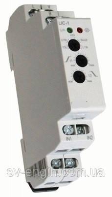 LIC-1, LIC-2 -  димеры для автоматического регулирования освещенности.