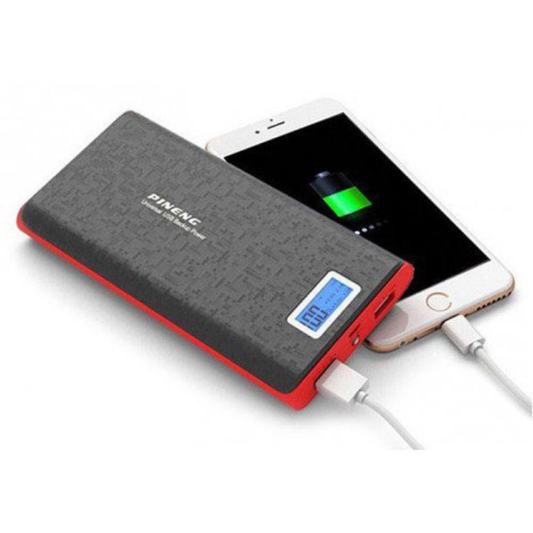 Внешний аккумулятор Power bank 40000 mAh Pineng PN-920 Портативный аккумулятор батарея