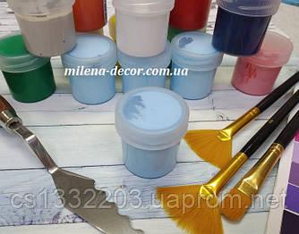 Акрилова фарба (блакитна) 20ml