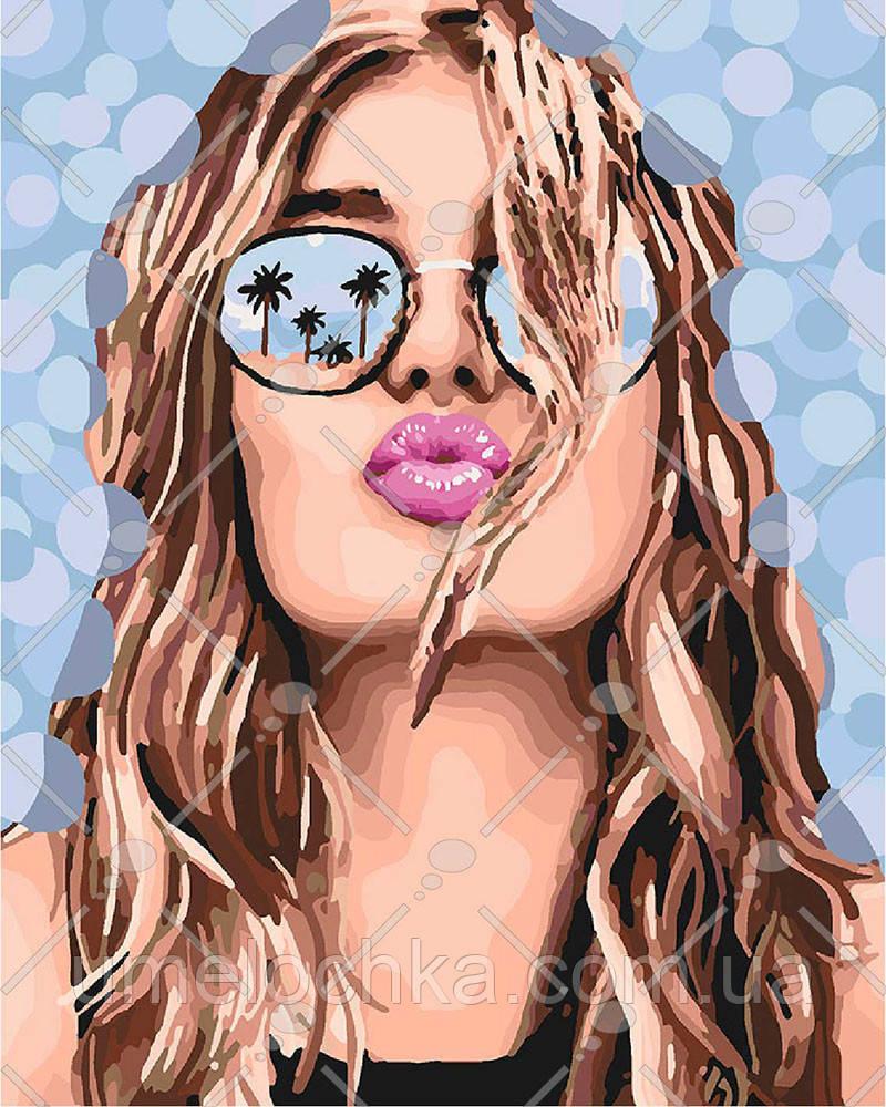 Картина по номерам Поцелуй лета 40 х 50 см (KHO4564)