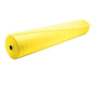 Одноразовая простынь Doily 0.6×100 м, желтая