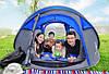 Автоматическая туристическая водонепроницаемая палатка / тент для кемпинга 3-4 чел., фото 10