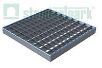 Решетка к дождеприемнику PolyMax Basic 28.28 ячеистая пластиковая серая