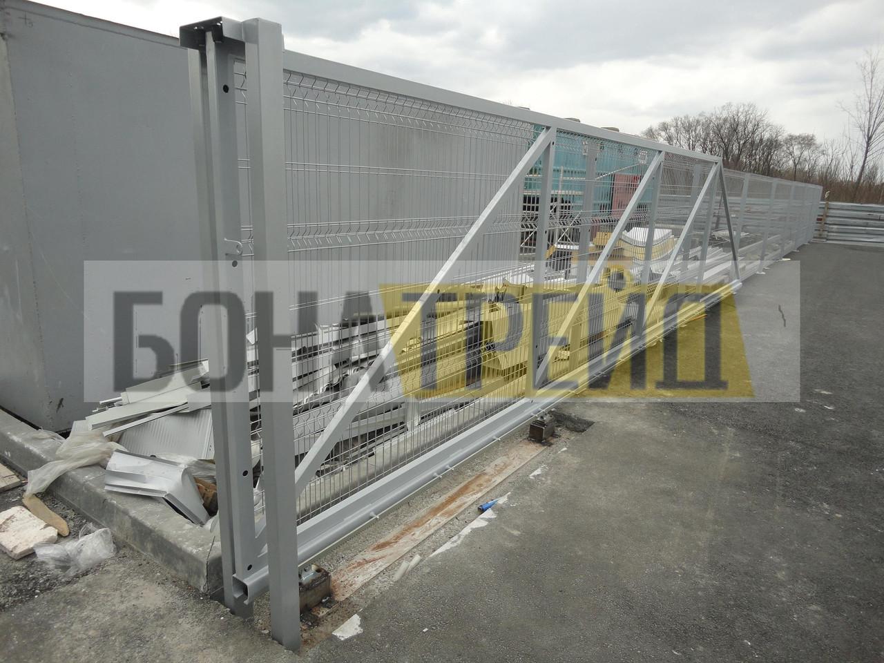Відкатні ворота ВО_Рубеж-60.20