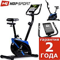 Магнитный велотренажер Hop-Sport HS-2070 Onyx blue до 120 кг. Гернамия