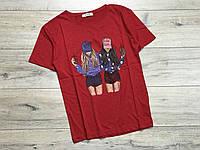 Женская футболка. M- XL размеры.