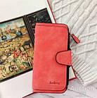 Кошелек женский Baellerry Forever N2345 красный plumb red, большой, цвет красный, фото 5