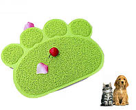 Коврик - подстилка для домашних животных Paw Print Litter Mat
