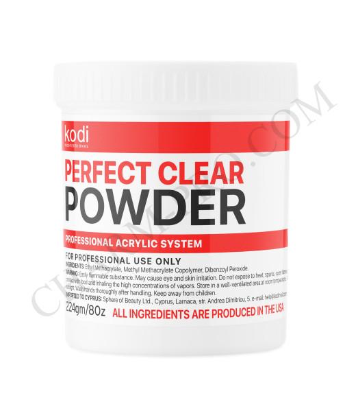 Базовый акрил прозрачный Perfect Clear Powder Kodi  (224г)