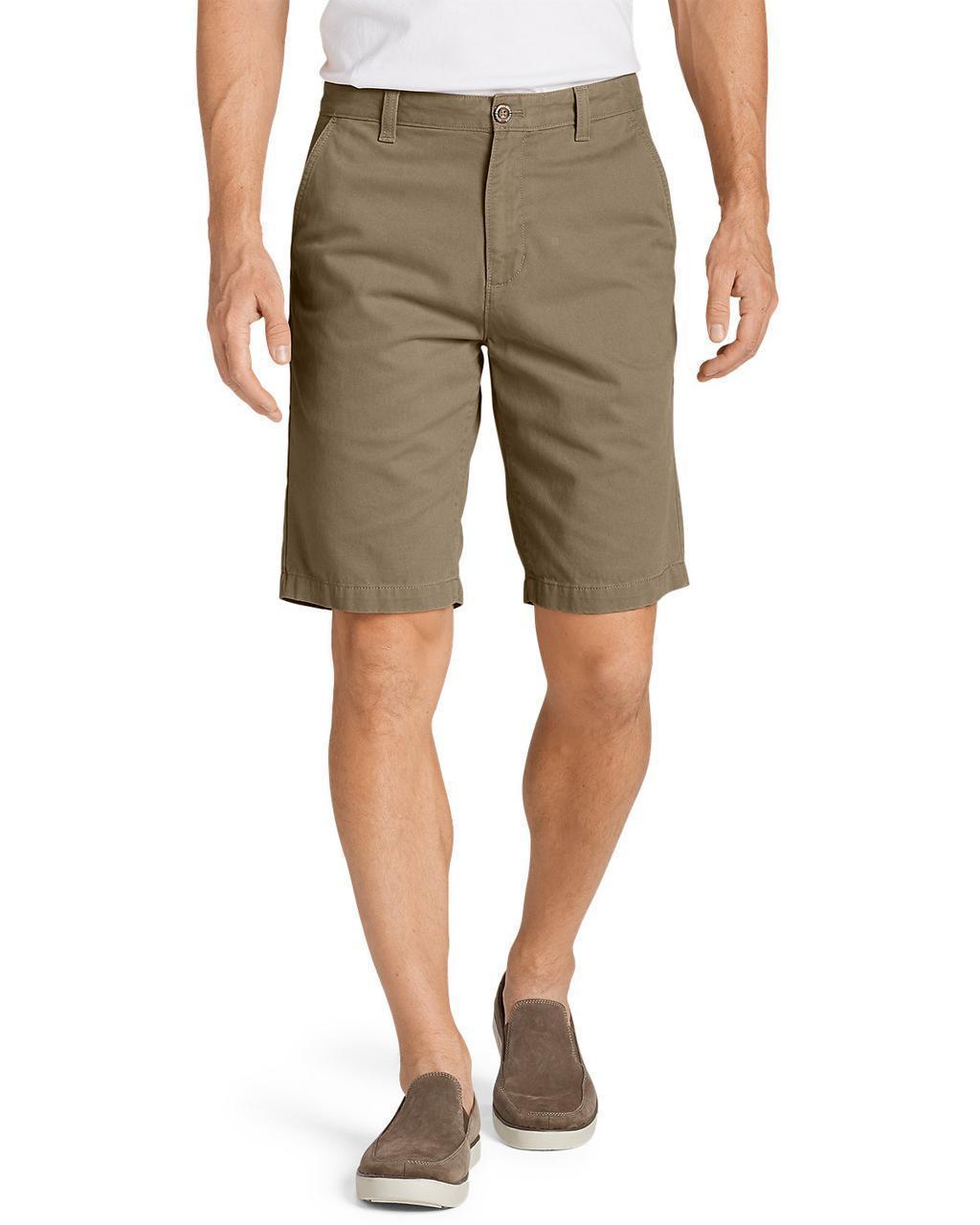 """Шорты Eddie Bauer Legend Wash 11"""" Chino Shorts - Solid Waist 38"""