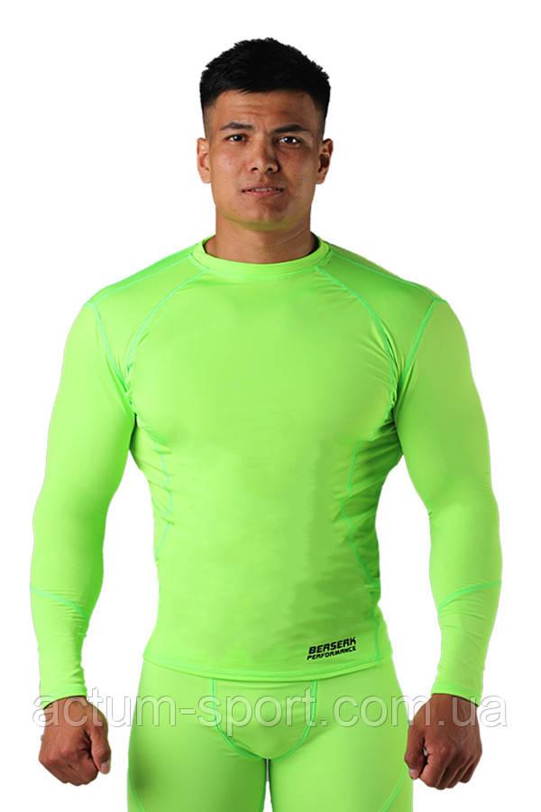 Компрессионная футболка с длинным рукавом BERSERK DYNAMIC neon