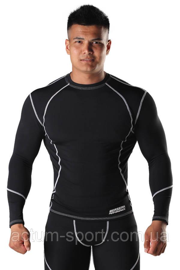 Компрессионная футболка с длинным рукавом BERSERK DYNAMIC черная