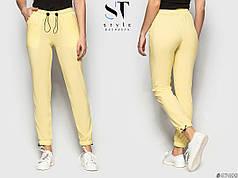 Легкие штаны в однотонной расцветке