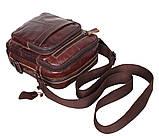 Мужская кожаная сумка Dovhani PRE5262-125 Коричневая, фото 6