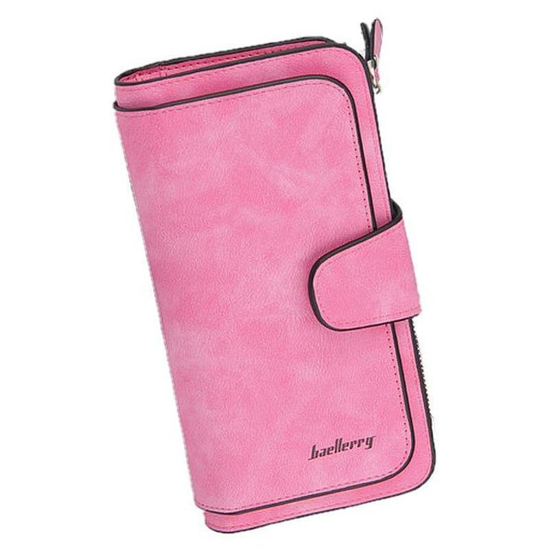Кошелек женский Baellerry Forever N2345 MALINA, большой, цвет розовый