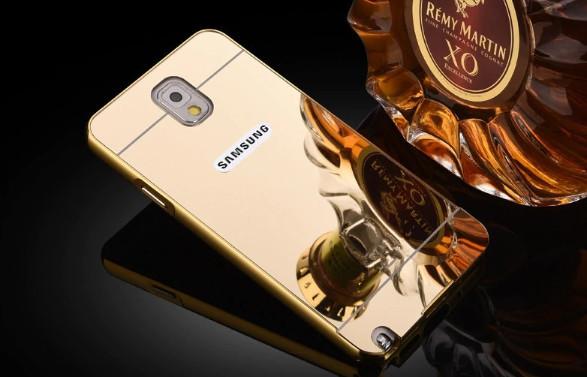 Алюминиевый чехол бампер для Samsung Galaxy Note 3