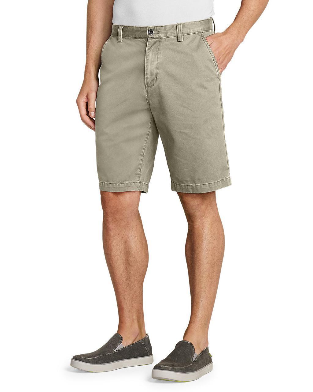 """Шорты Eddie Bauer Legend Wash 11"""" Chino Shorts - Solid Waist 36"""