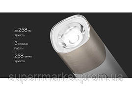 Портативный фонарик Xiaomi Solove X3 Portable Flashlight Power Bank 3000 mAh White, фото 3