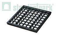 Решетка к дождеприемнику PolyMax Basic 28.28 ячеистая пластиковая черная
