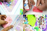 """Алмазная живопись картина """"Средиземноморская набережная"""" (40*30 см) Полная закладка, фото 8"""
