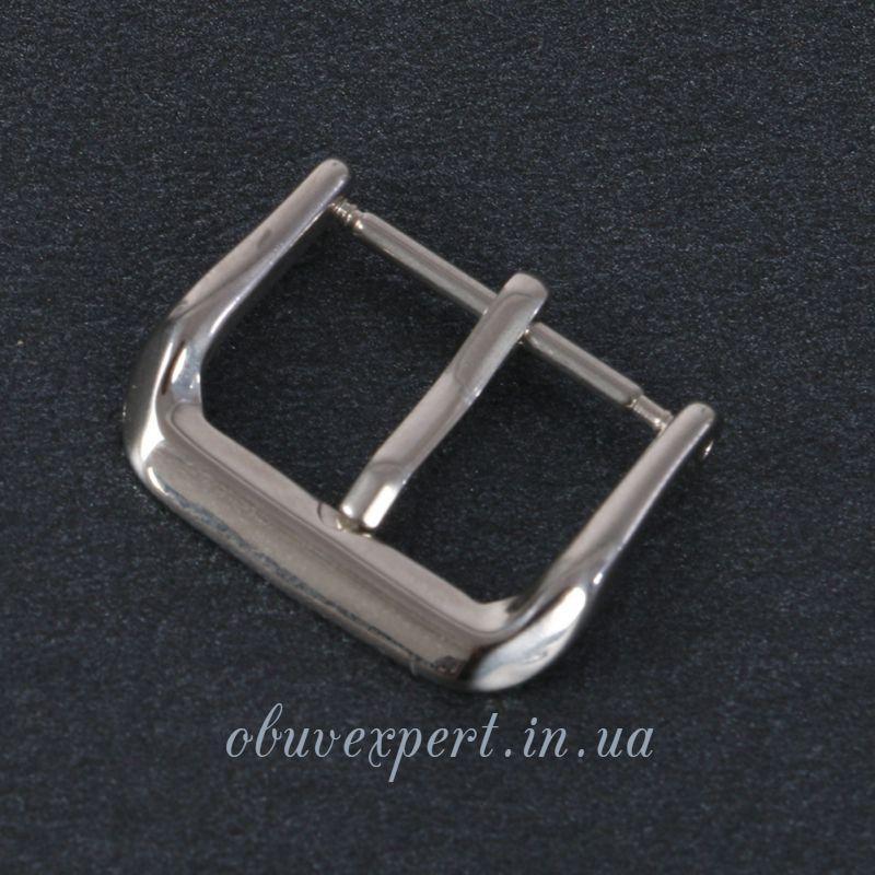 Пряжка для ремешка часов 16 мм Серебро
