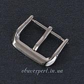 Пряжка для  годинника 16 мм Срібло