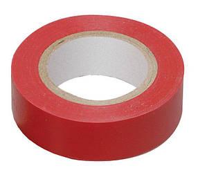 Изолента ПВХ Technics красная 19 мм х 10 м (10-706)