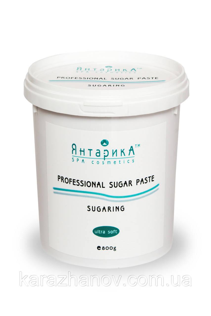 Сахарная паста для шугаринга ЯнтарикА ультра мягкая 800 грамм