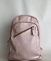 Вместительный рюкзак городской женский розовый Pretty Woman