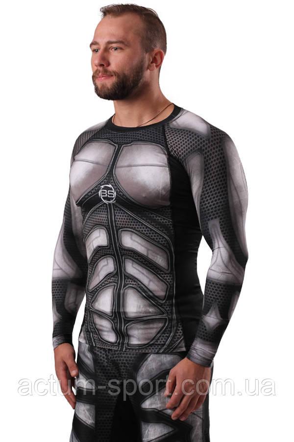Рашгард (футболка с длинным рукавом) BERSERK IRON MEN black